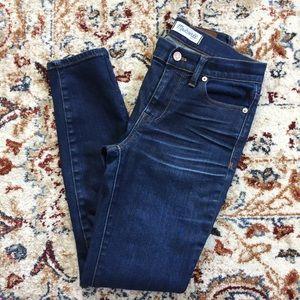 "{Madewell} 9"" High Rise Skinny Jeans"